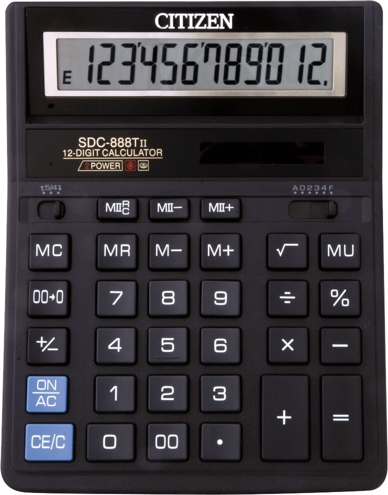 Калькулятор Citizen Sdc-888tii Инструкция На Русском Языке - фото 3